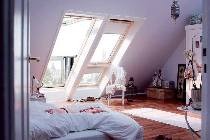 Loft conversion plans dorking for Small room no windows